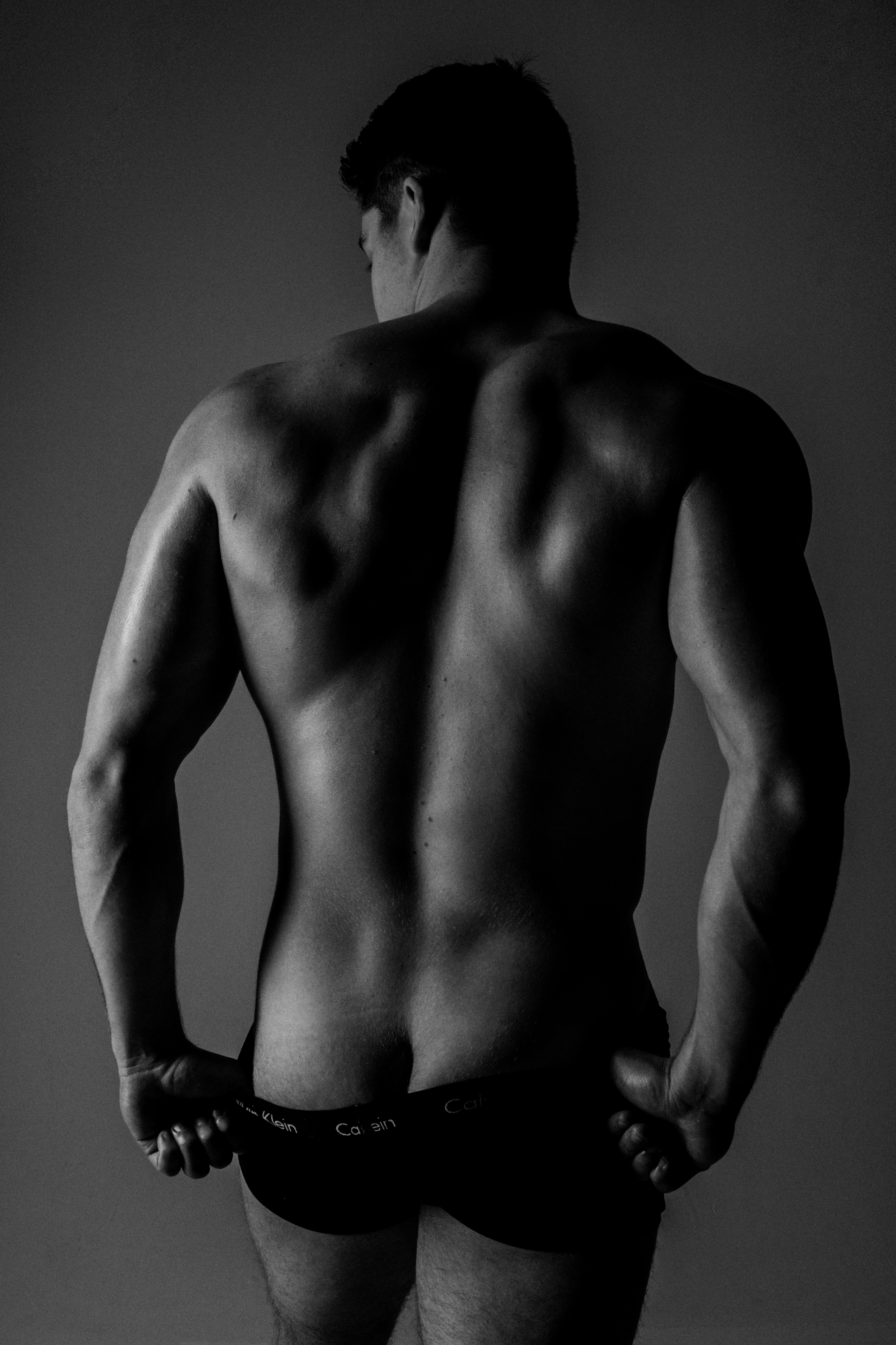 Male boudoir photography